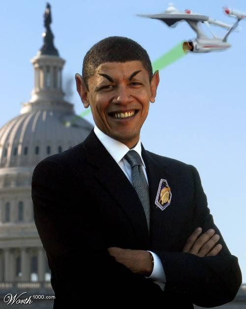 Obama spock.